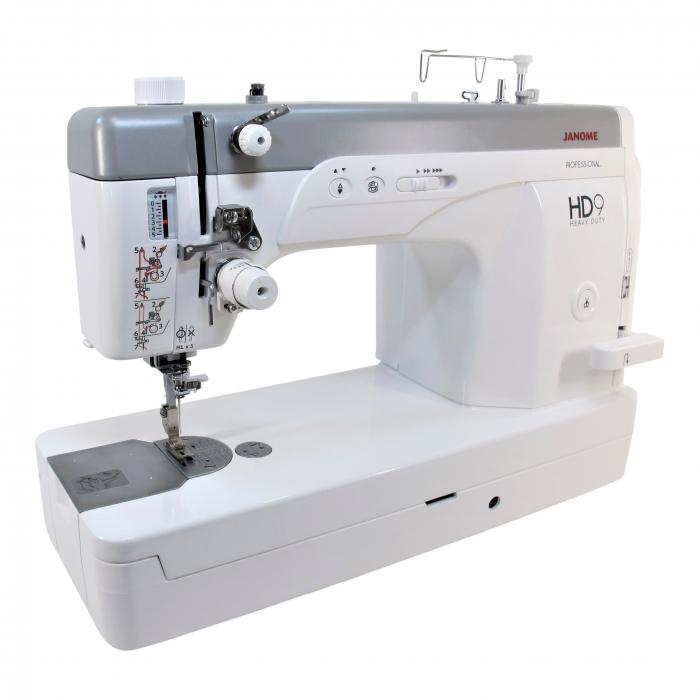 Janome HD9, una máquina de coser semi-industrial - Matri
