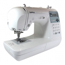 Máquinas de coser brother-innovis NV 55: entre 135 configuraciones de puntada y 10 tipos de ojales