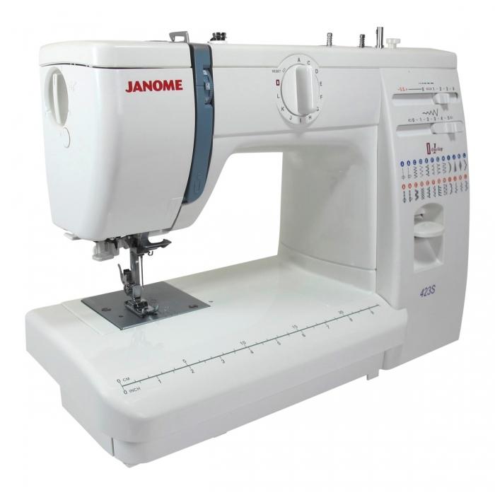 la Janome 423S, una máquina de coser muy creativa - Matri