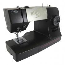 Máquinas de coserToyota Super Jeans 15 Black 12 capas de tela jeans con facilidad.