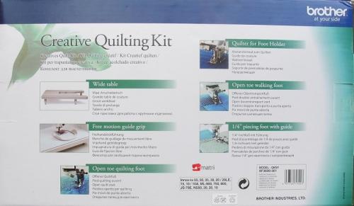 Brother creative quilting kit QKM1 precio rebajado