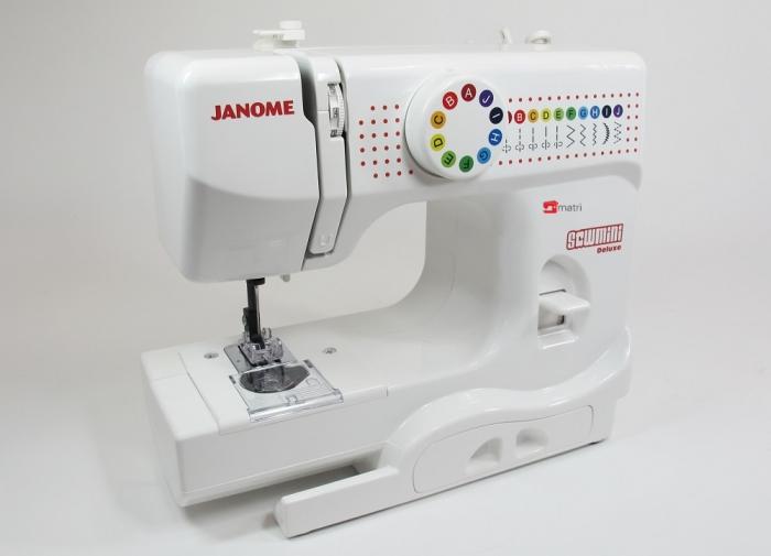 Janome sew mini, una máquina adulta para niños - Matri