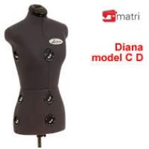Diana D  maniquí usado
