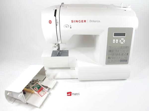 Singer 6180 Máquina de coser confiable computerizada