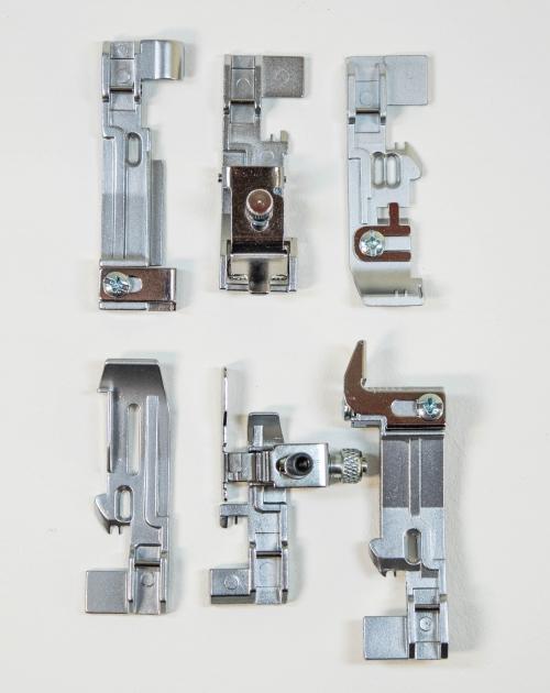 Set de pies prensatelas único (6 piezas)