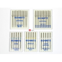 Conjunto de 5 cajas de agujas Schmetz variables
