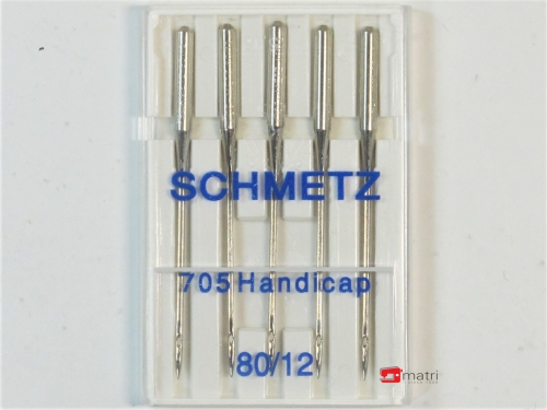 Schmetz Agujas Handicap tamaño 80