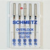 Schmetz agujas  EL x  705 - 80-90