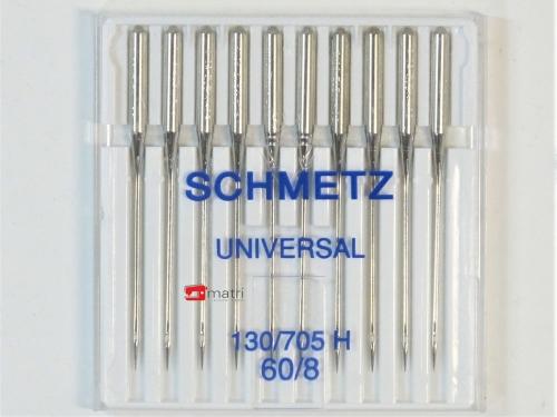 Schmetz Agujas para máquinas de coser tamaño 60