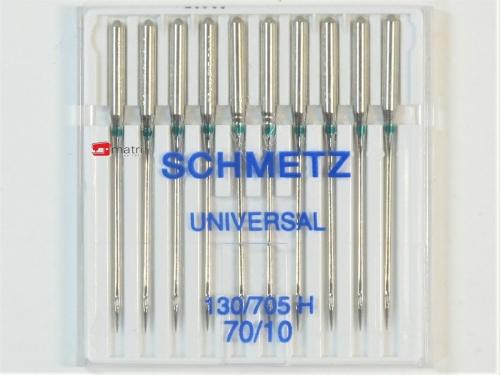 Schmetz Agujas para máquinas de coser tamaño 70